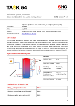 INFO Sheet A10: Reference System, Germany Solar Combisystem for Multi-Family House - <b>NEW</b>