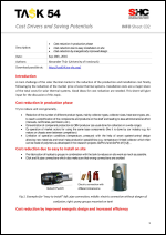 INFO Sheet C02: Cost Drivers and Saving Potentials (2): Production, installation, design