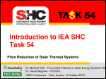 Introduction to IEA SHC Task 54